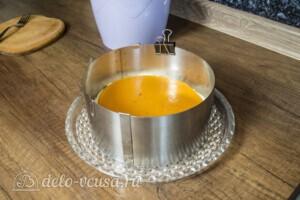 Творожный торт-суфле с абрикосами: фото к шагу 13.