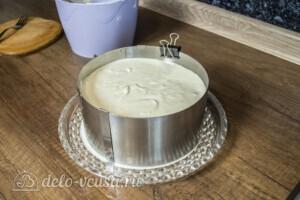 Творожный торт-суфле с абрикосами: фото к шагу 14