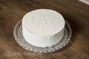 Творожный торт-суфле с абрикосами: фото к шагу 15.