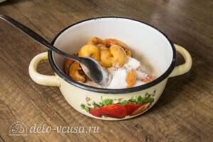 Творожный торт-суфле с абрикосами: фото к шагу 4