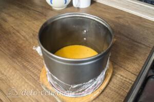 Творожный торт-суфле с абрикосами: фото к шагу 6