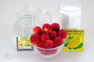Варенье из райских яблок с хвостиками: Ингредиенты