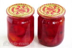 Варенье из райских яблок с хвостиками: фото к шагу 12.