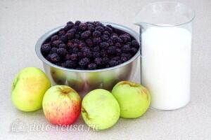 Повидло из яблок и ежевики: Ингредиенты