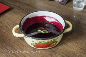 Зефир из черной смородины: фото к шагу 3
