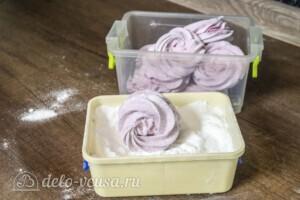 Зефир из черной смородины: фото к шагу 9