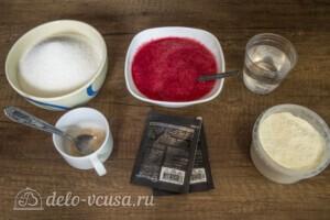 Зефир из красной смородины: Ингредиенты