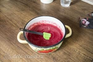 Зефир из красной смородины: фото к шагу 2.