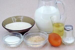Манные биточки для малышей: Ингредиенты