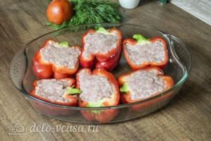 Перец фаршированный свининой и сыром: фото к шагу 3