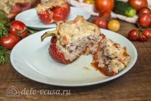 Перец фаршированный свининой и сыром: фото к шагу 7