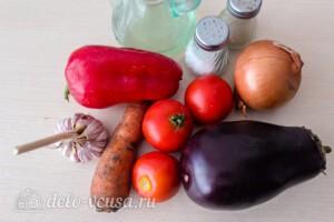 Гивеч по-молдавски на зиму: Ингредиенты