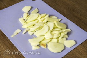 Яблочный пирог с карамельным вкусом: фото к шагу 7.