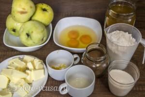 Яблочный пирог-кекс: Ингредиенты