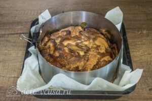 Яблочный пирог-кекс: фото к шагу 7