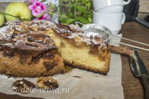 Яблочный пирог-кекс: фото к шагу 8