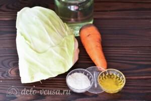 Капуста квашеная с медом за сутки: Ингредиенты