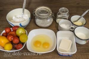 Киш с помидорами и фетой: Ингредиенты