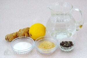 Лимонно-имбирное желе: Ингредиенты