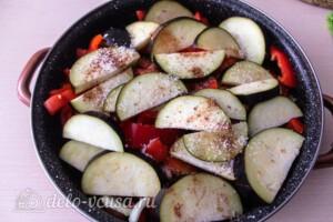 Тушеная говядина с картошкой и овощами: фото к шагу 4.