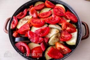 Тушеная говядина с картошкой и овощами: фото к шагу 5.