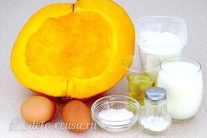 Оладьи из тыквенного пюре: Ингредиенты