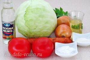 Овощная заправка для щей на зиму: Ингредиенты
