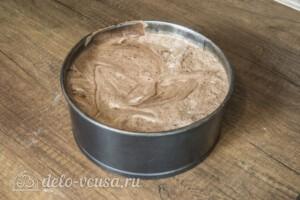 Шоколадно-кофейный бисквит: фото к шагу 3.