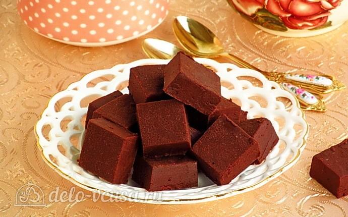 Домашний шоколадный щербет