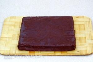 Домашний шоколадный щербет: фото к шагу 10.