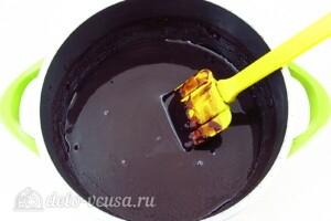 Домашний шоколадный щербет: фото к шагу 7.