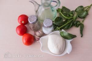 Итальянский салат «Капрезе»: Ингредиенты