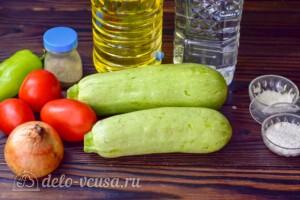 """Салат """"Престиж"""" из кабачков на зиму: Ингредиенты"""