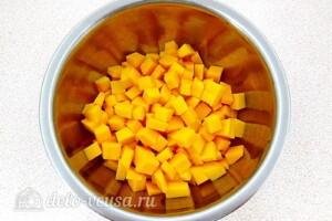 Салат из тыквы с луком: фото к шагу 1.