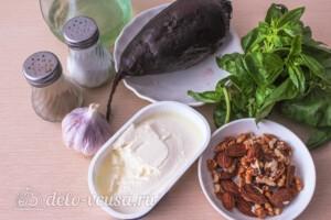 """Салат из свеклы """"Пизанская башня"""": Ингредиенты"""