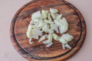 Гречка с баклажанами и овощами: фото к шагу 1.