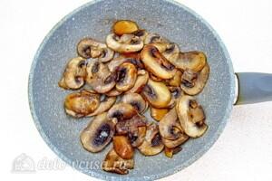 Овощной салат с сельдереем, грибами и сыром: фото к шагу 2.