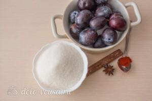 Варенье из слив по-восточному: Ингредиенты