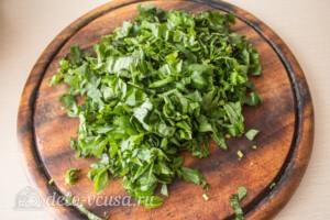 Томатный соус с базиликом на зиму: фото к шагу 3.