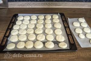 Творожно-кокосовое печенье: фото к шагу 4.