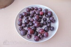 Королевская ватрушка с виноградом: фото к шагу 4.