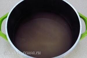Варенье из клюквы на зиму: фото к шагу 3.
