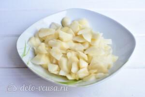 """Варенье из груш """"Пятиминутка"""" с лимоном: фото к шагу 1."""