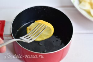 """Варенье из груш """"Пятиминутка"""" с лимоном: фото к шагу 4."""