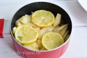 """Варенье из груш """"Пятиминутка"""" с лимоном: фото к шагу 6."""