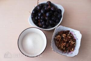 Варенье из винограда с грецкими орехами: Ингредиенты