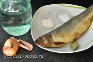 Маринованная сельдь с луком в банке: Ингредиенты