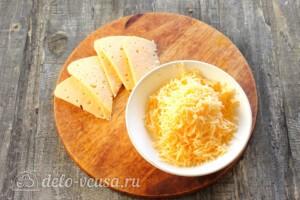 Мега-сырный омлет на молоке: фото к шагу 1