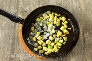 Зеленый суп-пюре из стручковой фасоли: фото к шагу 3.