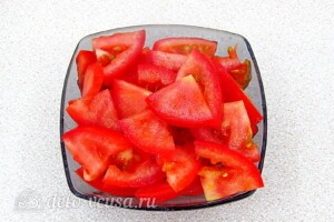 Андалузский овощной салат: фото к шагу 1.